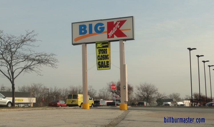 Big Kmart is a chain of discount department stores that carries everything a regular Kmart carries, but emphasizes home decor, children's clothing, and more food items such as meat and poultry, baked goods, frozen foods and an extended, but limited section of garden produce.