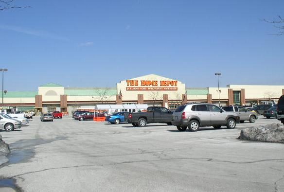 The Home Depot In Orland Park IL March 2007