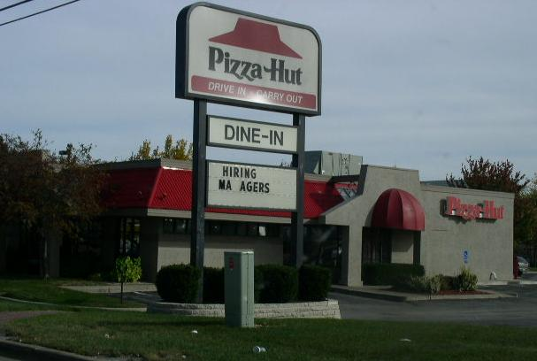 Pizza hut south okc