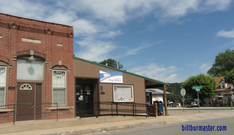 looking at the nebo post office   june  2012