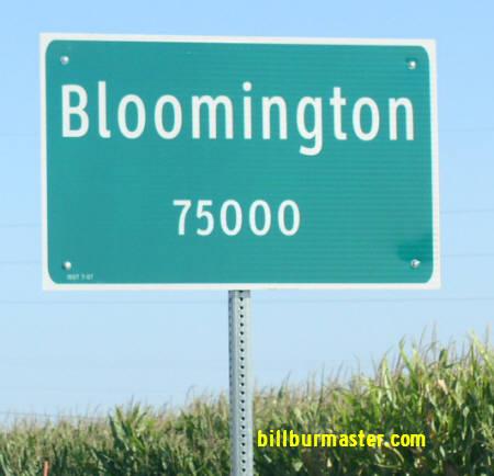 Illinois State Route 9, Mc Lean County