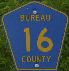 Bureau county highway 16 for Bureau junction il