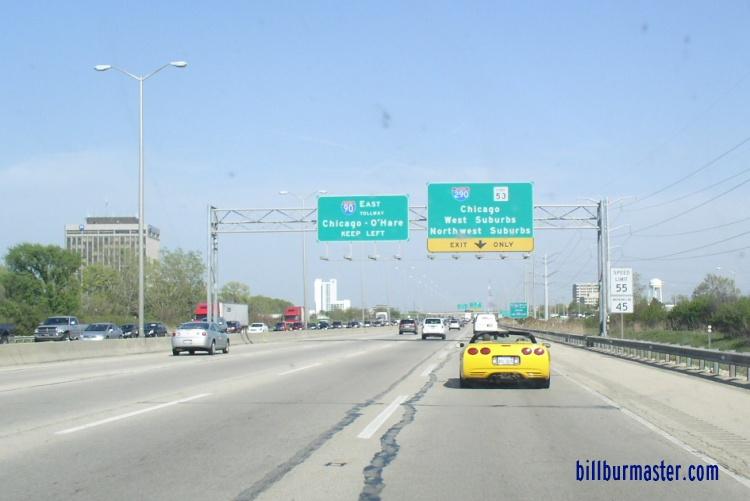 EB I-90, near I-290.