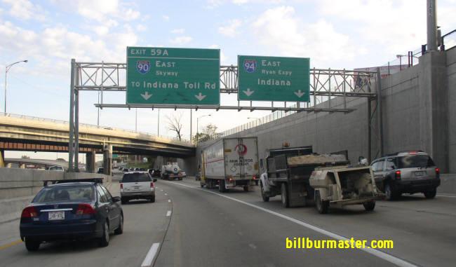 Interstate 94, Illinois