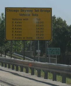 Chicago Skyway Toll Bridge