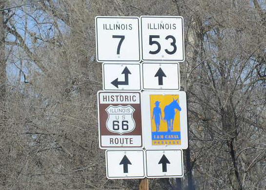 Illinois State Route 53, Will County