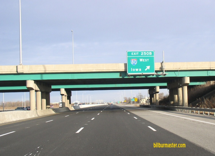 Interstate 55 illinois nb i 55 at eb i 80 january 2009 publicscrutiny Images