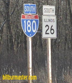 Illinois state route 26 from near bureau junction to for Bureau junction il