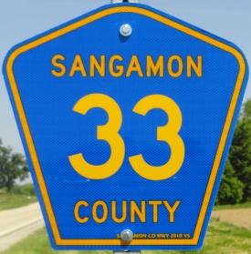 Sangamon County Highway 33