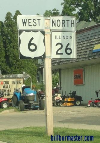 Illinois state route 26 bureau county for Bureau junction il