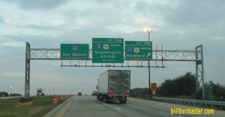 Interstate Illinois - Us map of interstate 80