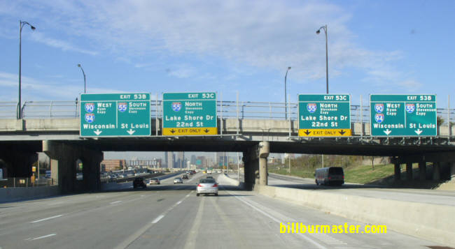 Interstate 90, Illinois