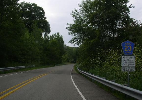 Bureau county highway 23 for Bureau junction il