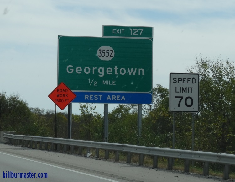 Kentucky secondary state route 3552 scott county a bgs on sb i 75 publicscrutiny Choice Image