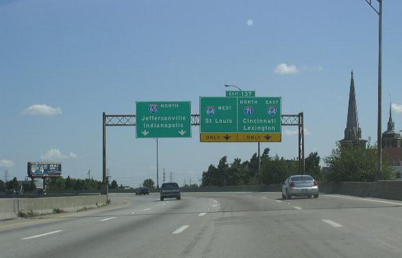 Interstate 65, Kentucky