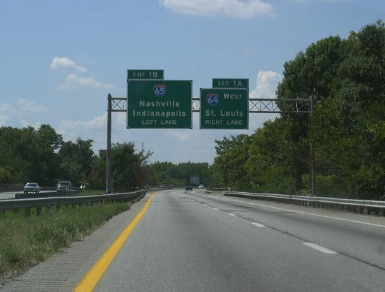 Interstate 71, Kentucky