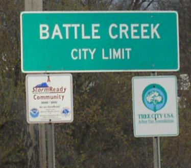Michigan State Route 96, Calhoun County