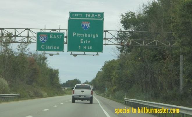 Interstate 79, Pennsylvania