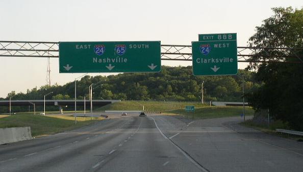 Interstate 65, Tennessee