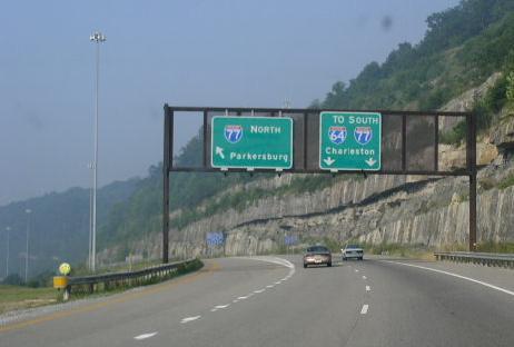 Photos: West Virginia - Interstate 79 Southbound | CrossCountryRoads